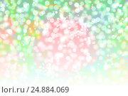 Купить «Абстрактный праздничный фон с эффектом боке», иллюстрация № 24884069 (c) Евгений Ткачёв / Фотобанк Лори