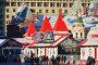 Ярмарка ГУМ-Каток на Красной площади в Москве, эксклюзивное фото № 24893453, снято 11 января 2017 г. (c) lana1501 / Фотобанк Лори
