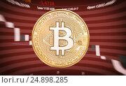 Купить «Trading concept of cryptocurrency», фото № 24898285, снято 20 ноября 2018 г. (c) Александр Лычагин / Фотобанк Лори
