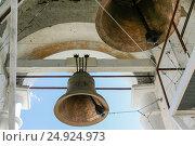 Bells of the Venerable bell tower,  Russia, Suzdal (2014 год). Стоковое фото, фотограф Денис Фоломеев / Фотобанк Лори