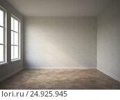 Купить «Interior empty room 3D rendering», иллюстрация № 24925945 (c) Hemul / Фотобанк Лори