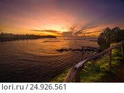 Рассвет на пляже Мирисса. Шри-Ланка. Стоковое фото, фотограф Максим Попыкин / Фотобанк Лори
