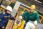 industry worker repairman with spanner, фото № 24929041, снято 21 февраля 2014 г. (c) Дмитрий Калиновский / Фотобанк Лори