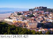 Chinchilla de Monte-Aragon with castle (2014 год). Стоковое фото, фотограф Яков Филимонов / Фотобанк Лори