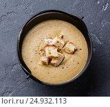 Суп из белых грибов, фото № 24932113, снято 20 января 2017 г. (c) Лисовская Наталья / Фотобанк Лори