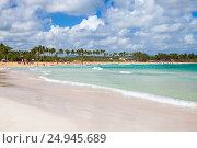 Купить «Macao Beach, Dominican Republic», фото № 24945689, снято 6 января 2017 г. (c) EugeneSergeev / Фотобанк Лори