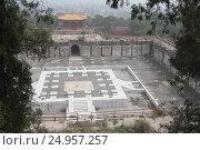 Купить «Храм Цзяньсиньчжай (Jian Xin Zhai) в горах Сяншань, Пекин», фото № 24957257, снято 24 сентября 2015 г. (c) Vladislav Osipov / Фотобанк Лори