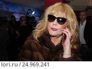 Купить «Алла Пугачева», фото № 24969241, снято 24 января 2017 г. (c) Архипова Екатерина / Фотобанк Лори