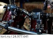 Купить «drums at music studio», фото № 24977641, снято 18 августа 2016 г. (c) Syda Productions / Фотобанк Лори