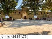 Купить «Juma Mosque in Derbent», фото № 24991781, снято 8 сентября 2016 г. (c) Elena Odareeva / Фотобанк Лори