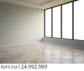 Купить «Interior empty room 3D rendering», иллюстрация № 24992989 (c) Hemul / Фотобанк Лори