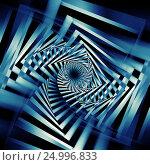 Купить «Abstract dark blue spirals pattern 3d art», иллюстрация № 24996833 (c) EugeneSergeev / Фотобанк Лори