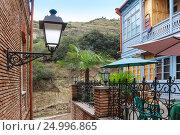 House with mountain view. Стоковое фото, фотограф Юрий Губин / Фотобанк Лори