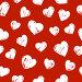 Бесшовный фон с сердечками, иллюстрация № 24998221 (c) Евгения Малахова / Фотобанк Лори