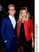 London Collections: Men A/W 2016 - Joshua Kane - Arrivals at Christ Church Spitalfields Featuring: Emma Lou Connolly, Oliver Proudlock Where: London, United... Редакционное фото, фотограф Joe Alvarez / age Fotostock / Фотобанк Лори