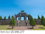 Купить «Antique arch in Hue, ancient capital of Vietnam», фото № 25040277, снято 9 августа 2016 г. (c) Александр Подшивалов / Фотобанк Лори