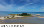 Купить «Aerial video of cape and sea in Khao Lak», видеоролик № 25070429, снято 28 января 2017 г. (c) Михаил Коханчиков / Фотобанк Лори