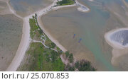 Купить «Aerial video of cape and sea in Khao Lak», видеоролик № 25070853, снято 27 января 2017 г. (c) Михаил Коханчиков / Фотобанк Лори