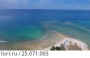 Купить «Aerial video of cape and sea in Khao Lak», видеоролик № 25071093, снято 27 января 2017 г. (c) Михаил Коханчиков / Фотобанк Лори