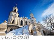 Купить «Владимирская церковь в Быково», фото № 25073329, снято 19 апреля 2019 г. (c) OSHI / Фотобанк Лори