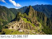 Купить «Мачу-Пикчу. Перу.», фото № 25086197, снято 13 октября 2016 г. (c) AK Imaging / Фотобанк Лори