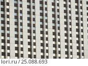 Купить «Фрагмент здания. Гостиничный комплекс «Измайлово». Измайловское шоссе, 71. Москва. Россия», эксклюзивное фото № 25088693, снято 5 февраля 2017 г. (c) lana1501 / Фотобанк Лори
