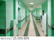 Купить «Интерьер московской городской больницы», эксклюзивное фото № 25099809, снято 15 июня 2016 г. (c) Елена Коромыслова / Фотобанк Лори