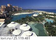 Купить «Royal Towers, the famous hotel at Atlantis, Paradise Island, Bahamas», фото № 25119481, снято 21 октября 2018 г. (c) Nature Picture Library / Фотобанк Лори
