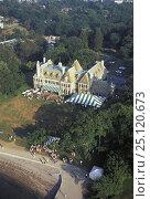 Купить «The New York Yacht Club's (NYYC) clubhouse, Harbour Court, on Newport harbour, Rhode Island.», фото № 25120673, снято 23 июля 2018 г. (c) Nature Picture Library / Фотобанк Лори