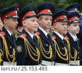Купить «Московские кадеты», фото № 25153493, снято 1 сентября 2014 г. (c) Free Wind / Фотобанк Лори