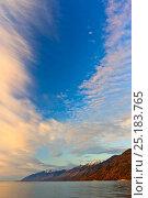 Купить «Lake Baikal shore, Siberia, Russia, October 2011.», фото № 25183765, снято 24 апреля 2019 г. (c) Nature Picture Library / Фотобанк Лори