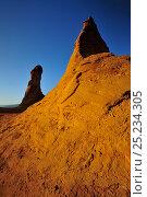 Купить «Earth deposits in an old ochre quarry, Le Colorado Provencal de Rustrel, Provence, France, February 2011.», фото № 25234305, снято 17 августа 2018 г. (c) Nature Picture Library / Фотобанк Лори