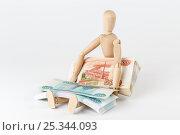 Купить «Отчисления в пенсионный фонд», фото № 25344093, снято 10 февраля 2017 г. (c) Юрий Шурчков / Фотобанк Лори