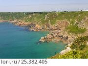 Купить «Petit Bot Bay, south-east coast of Guernsey, Channel Islands, May 2009.», фото № 25382405, снято 26 февраля 2018 г. (c) Nature Picture Library / Фотобанк Лори