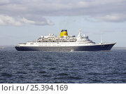 "Купить «Cruiseliner ""Saga Ruby"" at the Funchal 500 Tall Ships Regatta 2008. Falmouth, Cornwall, UK», фото № 25394169, снято 7 августа 2020 г. (c) Nature Picture Library / Фотобанк Лори"