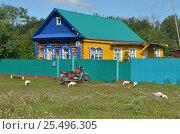 Домик в деревне (2015 год). Редакционное фото, фотограф Наталья Тагирова / Фотобанк Лори
