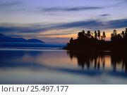 Купить «Chivyrkuyisky Bay, Zabaikalsky NP, Lake Baikal, Russia.», фото № 25497177, снято 24 апреля 2019 г. (c) Nature Picture Library / Фотобанк Лори