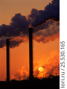 Купить «Air pollution: smokestacks (Sevalco plant) at Avonmouth, Bristol, England, UK, Europe», фото № 25530165, снято 22 сентября 2018 г. (c) Nature Picture Library / Фотобанк Лори