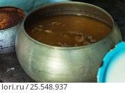 Купить «cooking meals in a Russian stove», фото № 25548937, снято 17 сентября 2016 г. (c) Jan Jack Russo Media / Фотобанк Лори