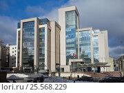 Купить «Штаб-квартира ПАО «Лукойл» на Сретенском бульваре. Москва.», фото № 25568229, снято 29 января 2017 г. (c) Татьяна Белова / Фотобанк Лори
