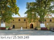 Купить «Juma Mosque in Derbent», фото № 25569249, снято 8 сентября 2016 г. (c) Elena Odareeva / Фотобанк Лори