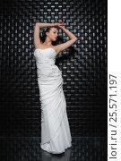 Купить «Beautiful young woman», фото № 25571197, снято 9 августа 2015 г. (c) Сергей Сухоруков / Фотобанк Лори