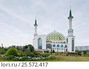 Купить «Сибирь, Кемерово. Мечеть», фото № 25572417, снято 22 августа 2016 г. (c) Александр Циликин / Фотобанк Лори