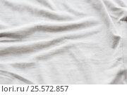 Купить «close up of cotton textile or fabric background», фото № 25572857, снято 15 сентября 2016 г. (c) Syda Productions / Фотобанк Лори