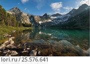 Озеро Крепкое, Алтай, фото № 25576641, снято 11 июля 2016 г. (c) Nikitin / Фотобанк Лори
