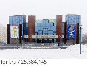 Купить «Здание Саратовского академического театра юного зрителя имени Ю. П. Киселёва», эксклюзивное фото № 25584145, снято 4 февраля 2015 г. (c) Зобков Георгий / Фотобанк Лори