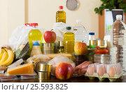 Купить «Provision with vegetables and meat», фото № 25593825, снято 20 апреля 2018 г. (c) Яков Филимонов / Фотобанк Лори