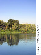 Beautiful summer landscape. Стоковое фото, фотограф Сергей Девяткин / Фотобанк Лори