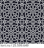 Купить «Seamless Celtic patterns», иллюстрация № 25599649 (c) Silanti / Фотобанк Лори