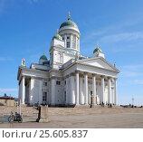 Купить «Собор Святого Николая. Хельсинки», фото № 25605837, снято 11 мая 2013 г. (c) Сапрыгин Сергей / Фотобанк Лори